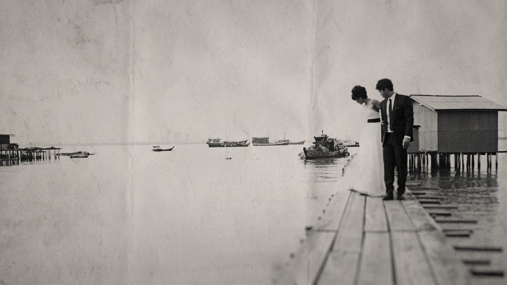 Jason & Sherry's Penang Pre-Wedding Photography by Singapore Wedding Photographer Brian Ho from thegaleria / Chew Jetty