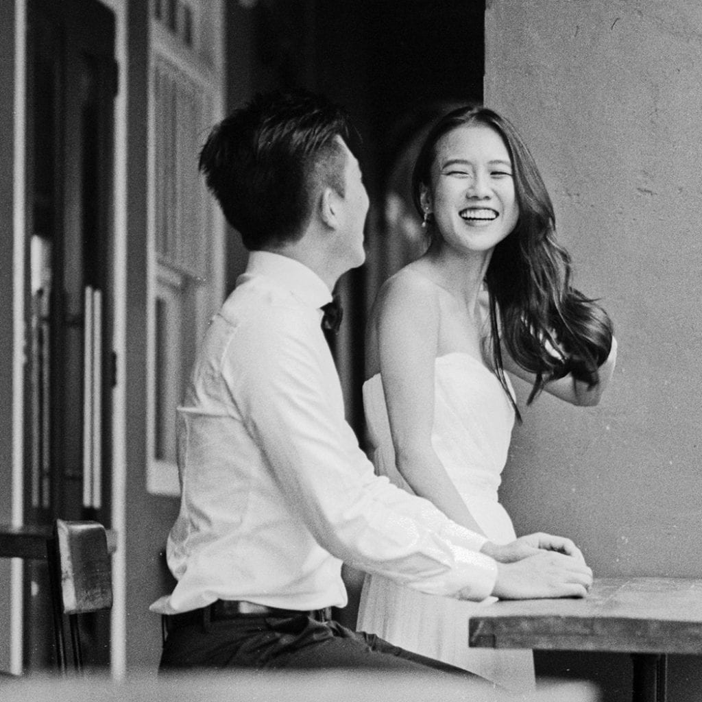 Royden & Jiayin's Pre-Wedding Photography by Film Wedding Photographer Brian Ho from thegaleria / Ann Siang Hill