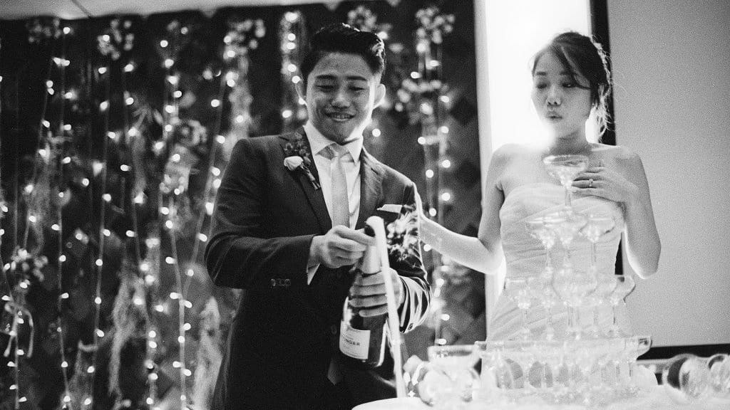 Wedding Photography at Sofitel Sentosa by Film Wedding Photographer Brian / thegaleria / Kodak TRI-X 400